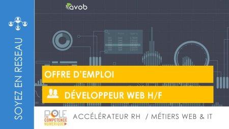#JobAlert  Notre partenaire @AVOB recherche un #Développeur #web H/F  Consultez...