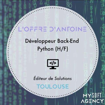 [OFFRE DE LA SEMAINE]  Pour un éditeur de solution, Antoine recherche un Dével...