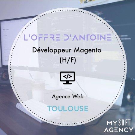[OFFRE DE LA SEMAINE]  Pour une agence web, Antoine recherche un Développeur M...