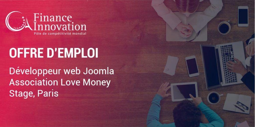 Offre de stage : L'association Love Money recherche un développeur web Joomla (H...