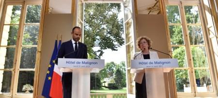 Le Premier ministre et Muriel Pénicaud