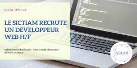 #Recrutement #Développeur #Web H/F : rejoignez une #collterr innovante ! Si vous...