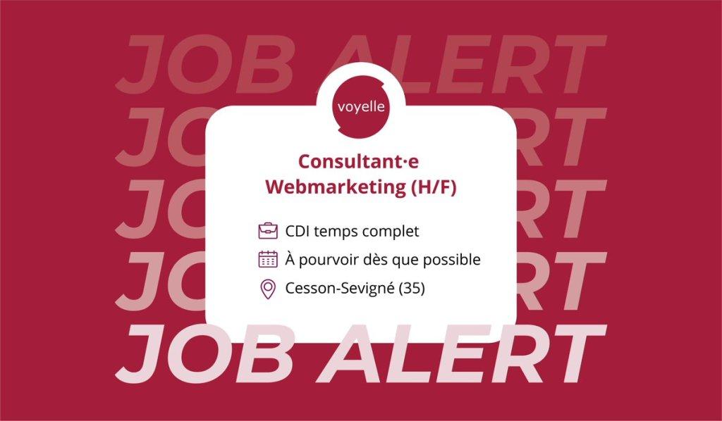 #recrutement  Nous sommes à la recherche de notre nouveau·elle consultant·e #w...
