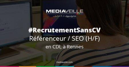 #RecrutementSansCV Tu as le profil ? Pas besoin du CV ! Nous recrutons sans CV u...