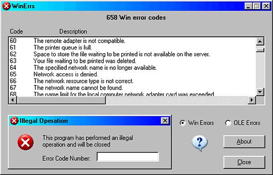 Когда процессор или установленная операционная система получают инструкции от программы, которые они не могут обработать или не распознают, то компьютер выдаёт ошибку: «Программа выполнила недопустимую операцию и будет закрыта»