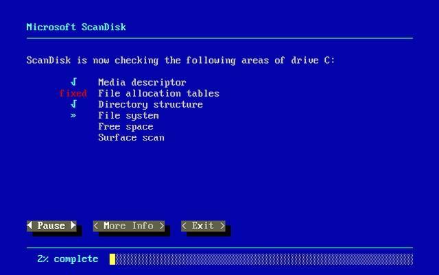 Программа Scandisk | Интернет-профи