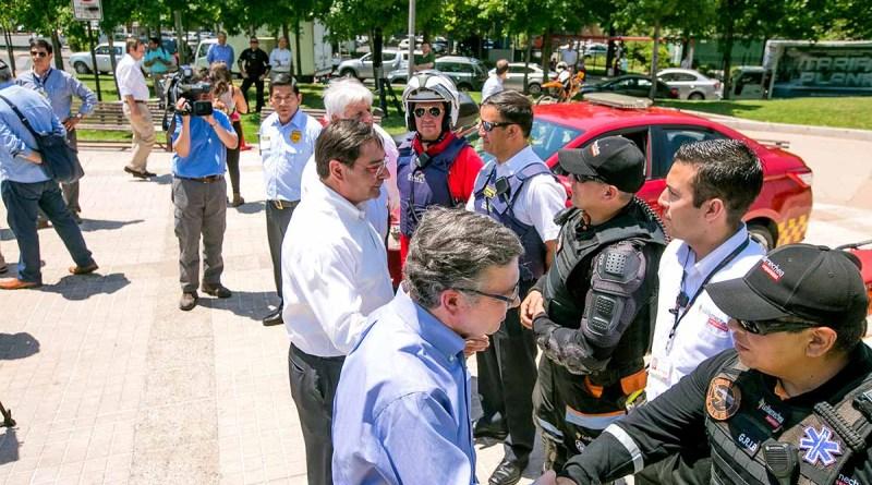 Encargados de patrullaje municipal reciben capacitación en autódromo de Las Vizcachas