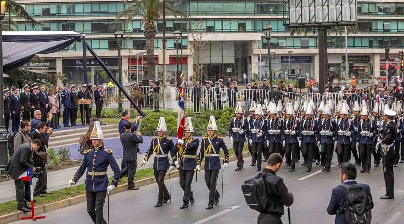Conmemoración Glorias Navales