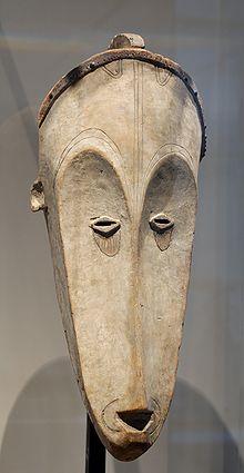 Masque Fang du musée du Louvre