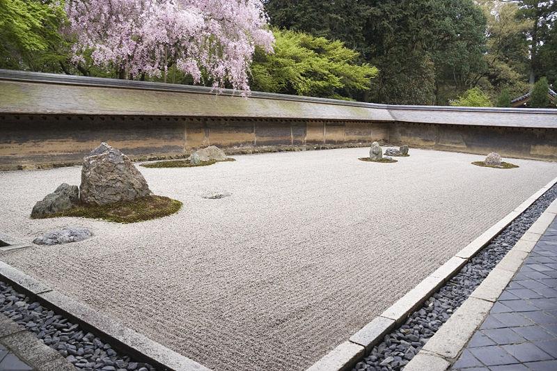 Le jardin zen du Ryoan-Ji