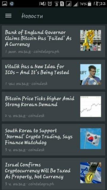 Табтрейдер новости криптовалют