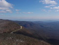 Blue Ridge Parkway mile 409