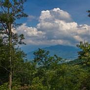 Overlook of Greybeard Mountain