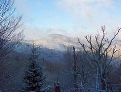 Blue Ridge Parkway from Haywood Gap Trail