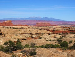 LaSal Mountains Beyond Canyonlands