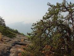 Lower Looking Glass Rock Cliffs