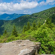 Blue Ridge Parkway Mile 357