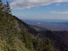 Blue Ridge Parkway mile 421