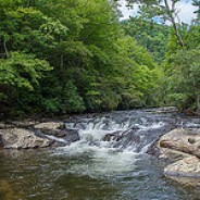 Noland Creek cascade