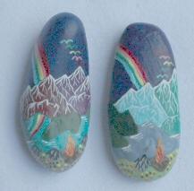 pair of summit stones