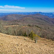 View of The Swag from Hemphill Bald