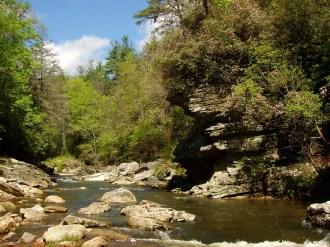 Linville River north