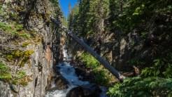 Missouri Creek through the gorge