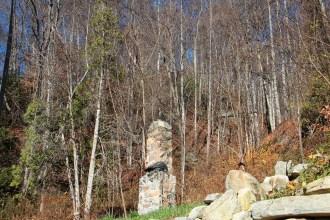 Chimney at trailhead