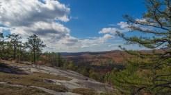 Profile of Cedar Rock west face