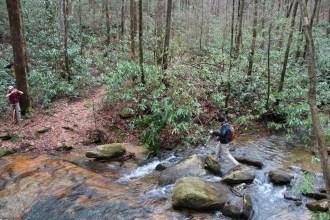 Crossing Cold Spring Branch