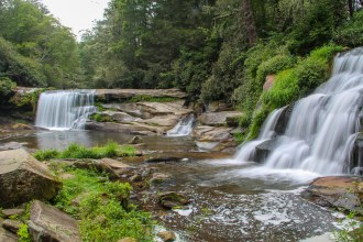 Twin Falls at Living Waters