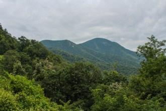 Approaching Mt. Pisgah