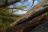 Looking west from Cedar Rock
