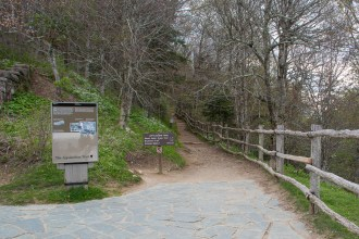 Trailhead at Newfound Gap