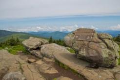 Grassy Ridge Bald summit