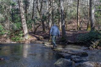 Crossing Reasonover Creek
