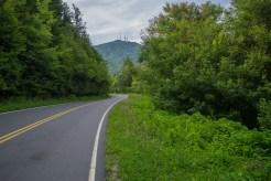 Clingmans Peak on Hwy 128