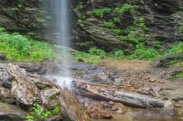 Base of Douglas Falls