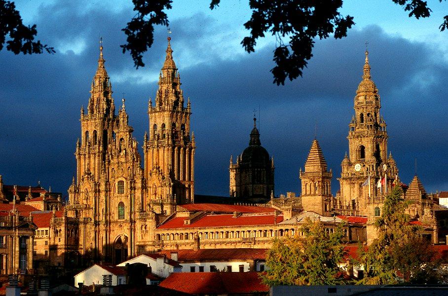 Santiago de Compostela - Photo from Wikimedia