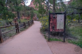 Trailhead at The Grotto