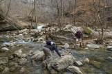 Rock hoppin' Turkey Creek
