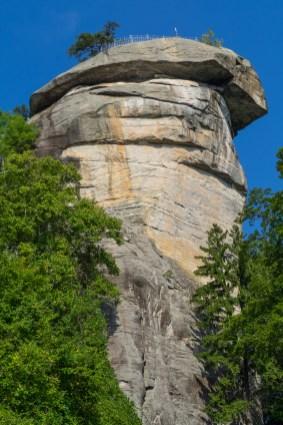 Chimney Rock from below