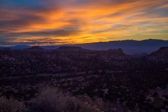 Sunrise from Los Alamos