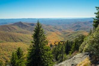 Pilot Mountain from Chestnut