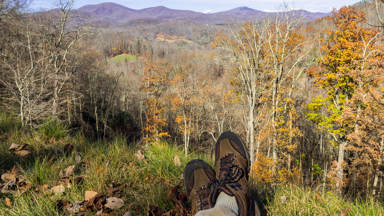 Taking the Merrell Phoenix for a test hike.