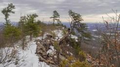 Edge of the ridge