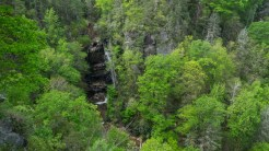 Falls from the overlook