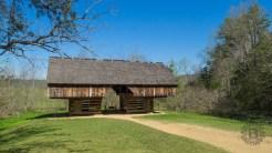 Tipton cantilevered barn