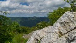 Quartz on the summit