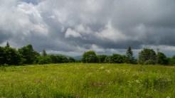 Heavy, heavy cloud cover